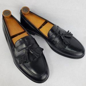 MEZLAN Santander Leather Tassel Loafers Size 10